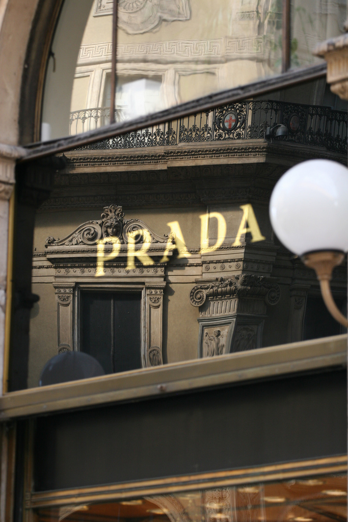 The lawyer wears Prada
