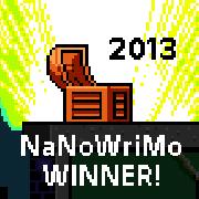 NaNoWriMo 2013 – I did it!!