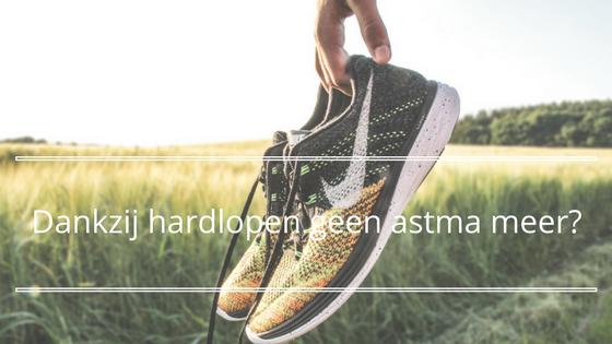 Dankzij hardlopen geen astma meer?
