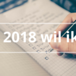 Josanne van Westrienen doelen 2018