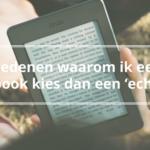 liever e-book dan echt boek