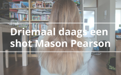 Driemaal daags een shot Mason Pearson